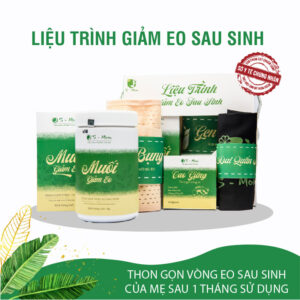 Liệu Trình Giảm Eo Sau Sinh S-Mom